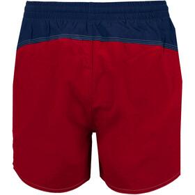 arena Bywayx Bicolor Shorts Boys shiny red/navy/white